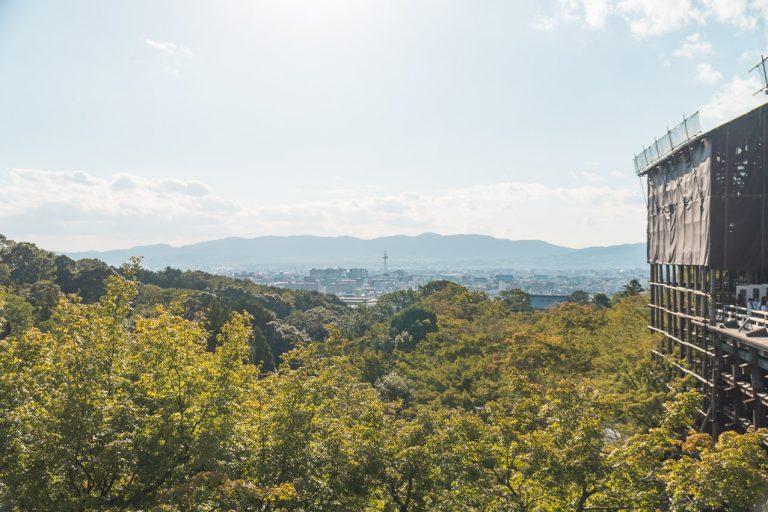 Kyoto Aussicht