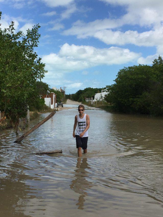 Holbox Wanderung Martin