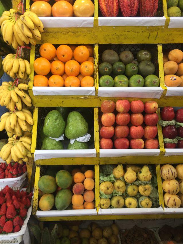 Lima Obst Markt