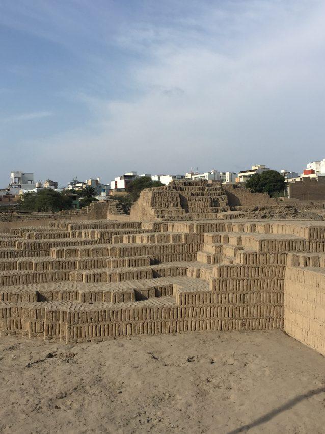 Lima Prä Inka Ruinen