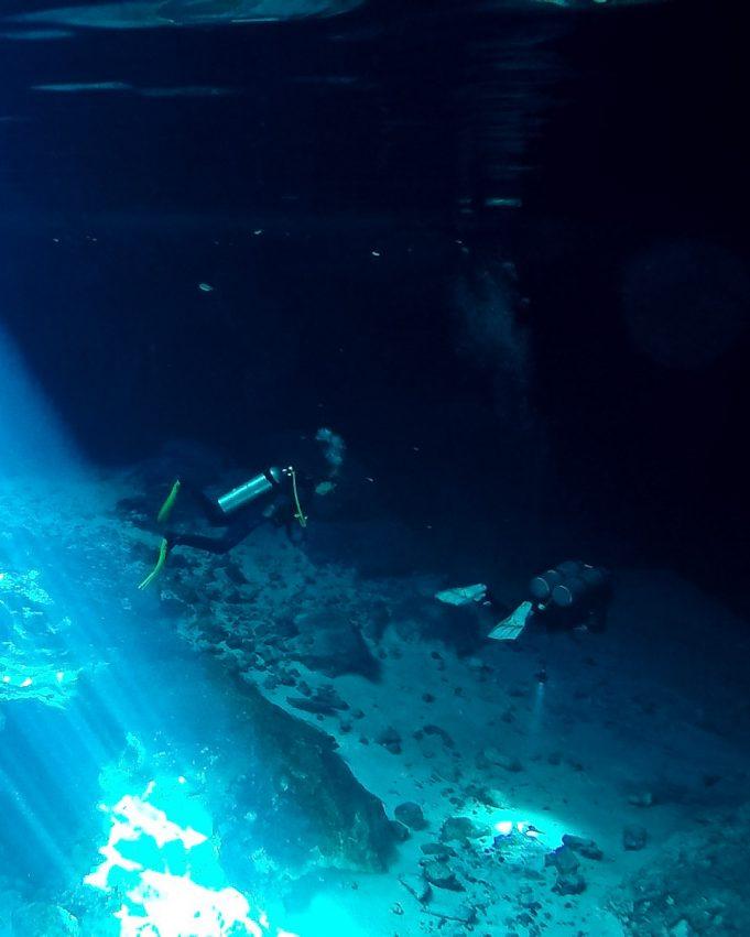Tulum Cenote Tauchen