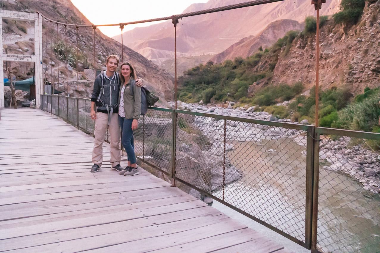 Colca Tour Brücke