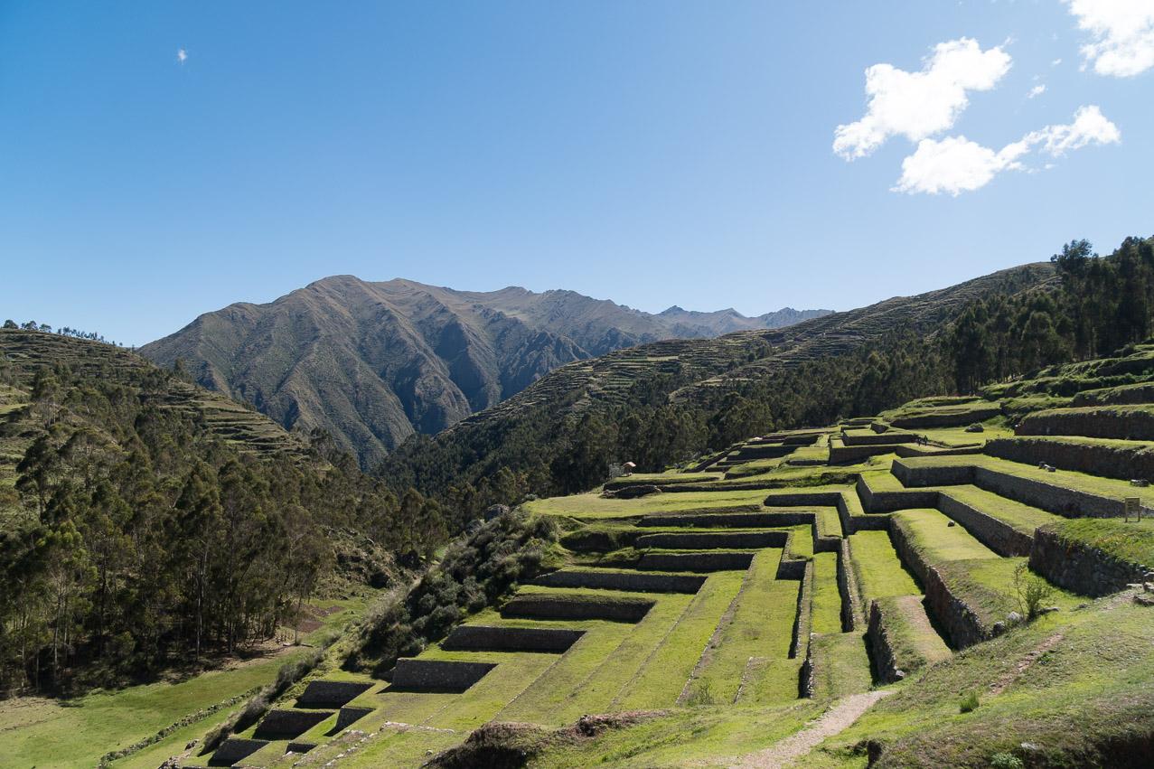 Cusco Zierterassen
