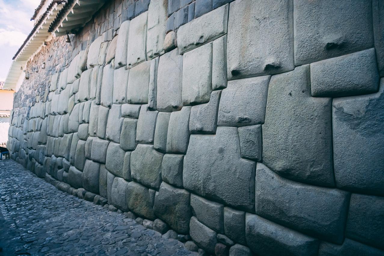Cusco Inka Mauer