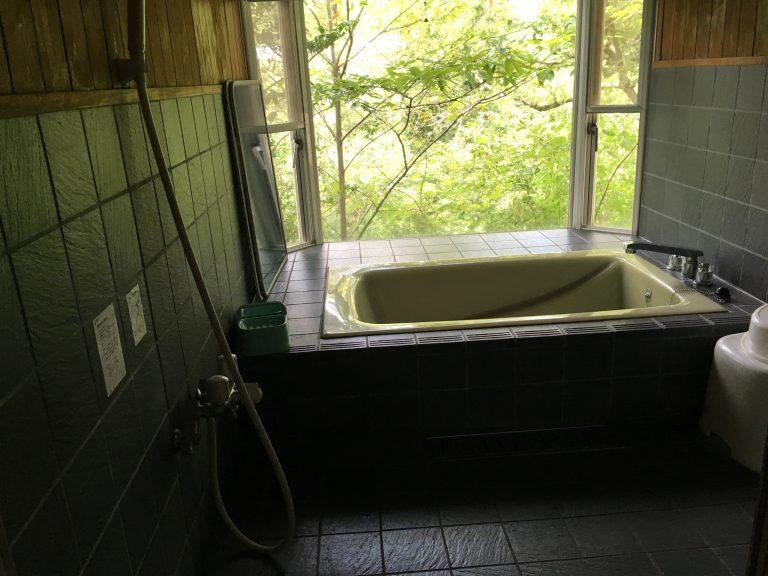 Japanisches Badezimmer