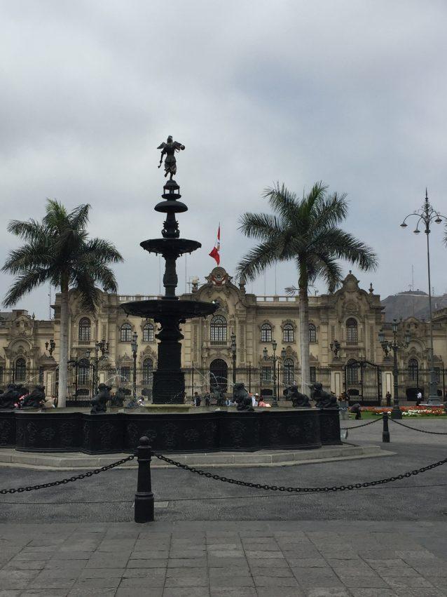 Lima Brunnen
