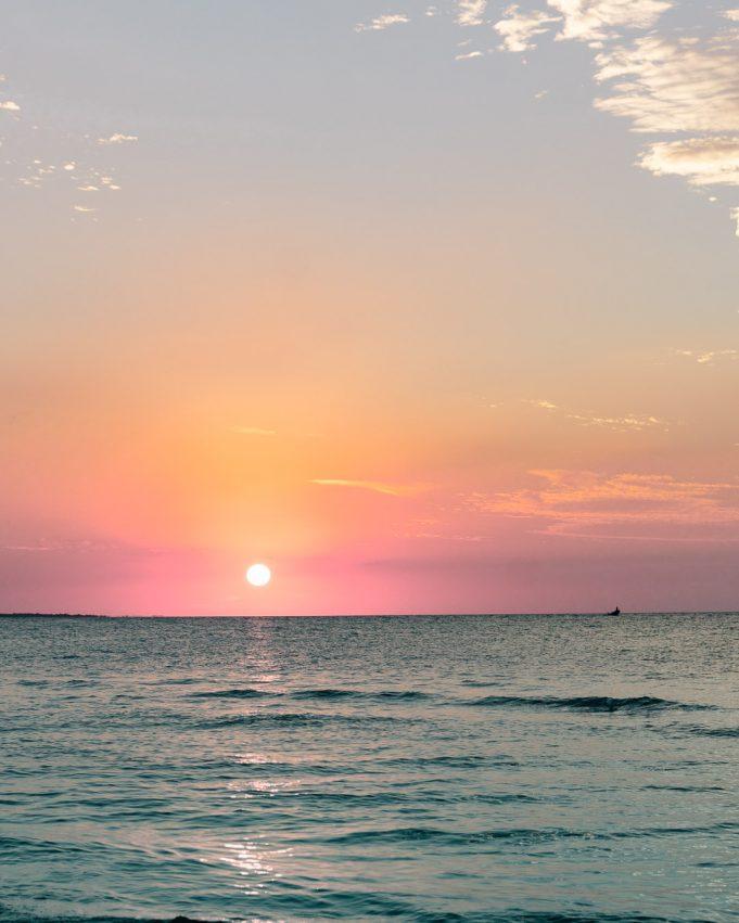Holbox Sonnenuntergang