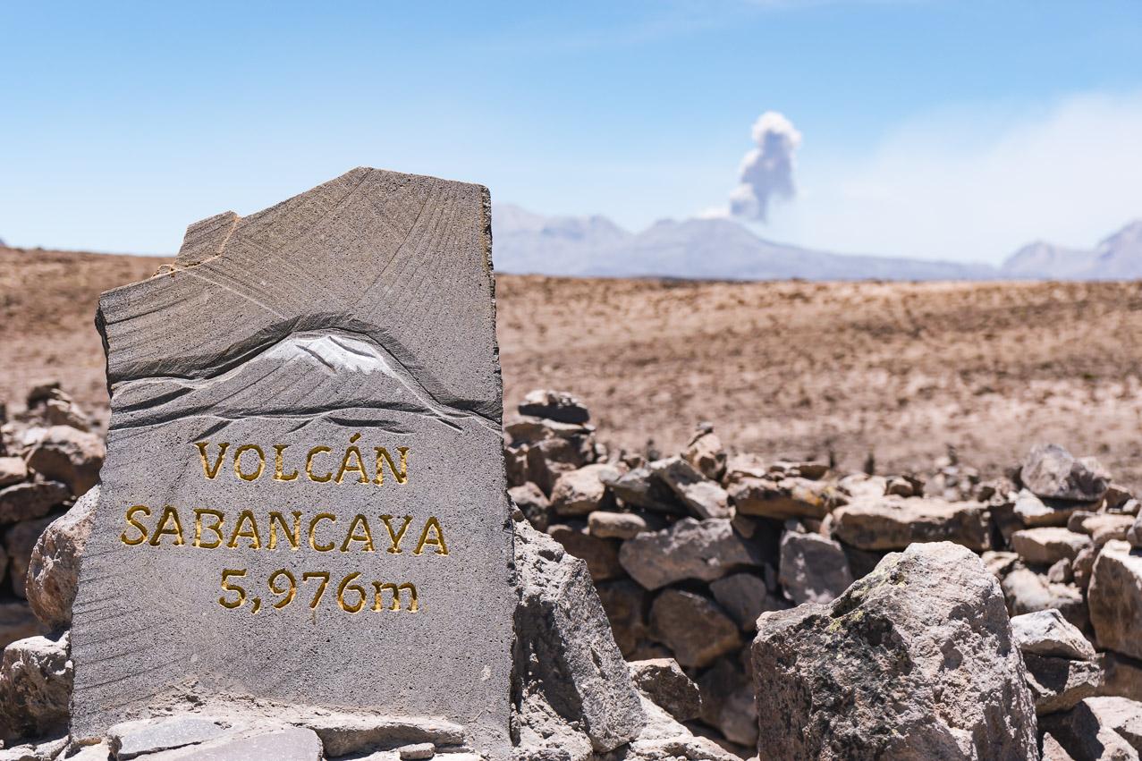 Vulkan Ausbruch