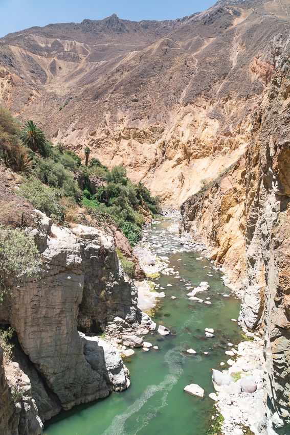 Colca Fluss