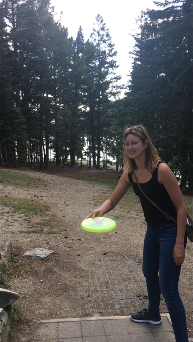 Frisbee Golf Alina