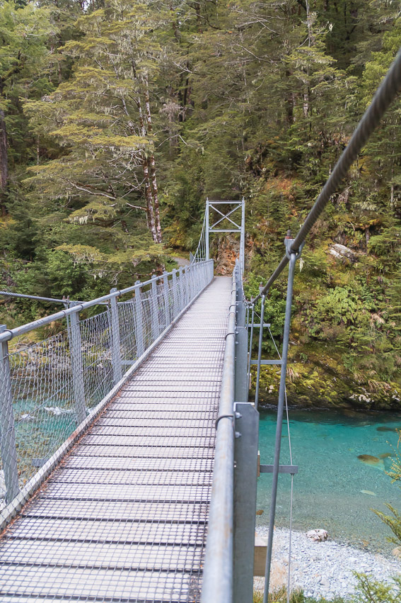 Queenstown Routeburn Brücke