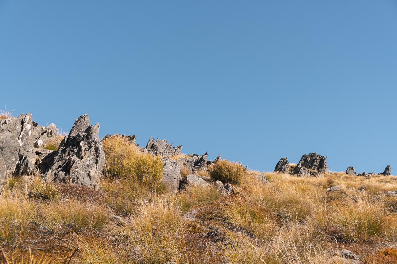 Isthmus Peak Felsig