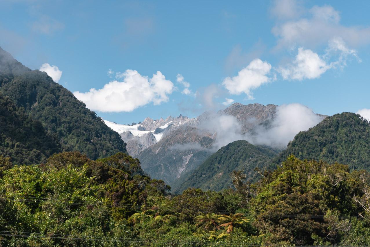 Franz Josef Gletscher Regenwald