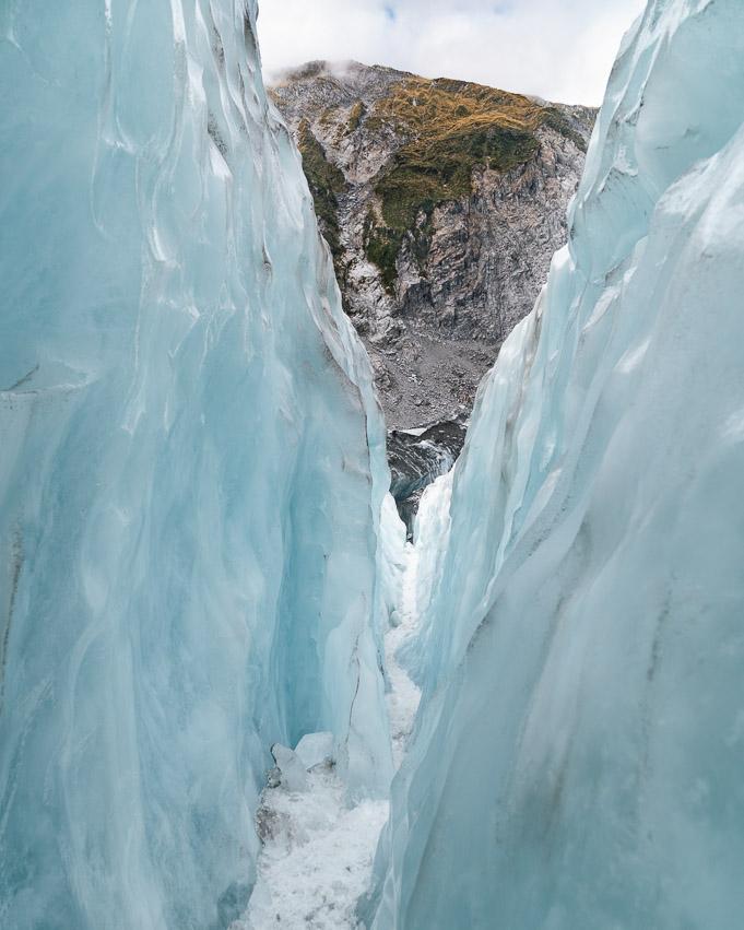 Franz Josef Gletscherspalte