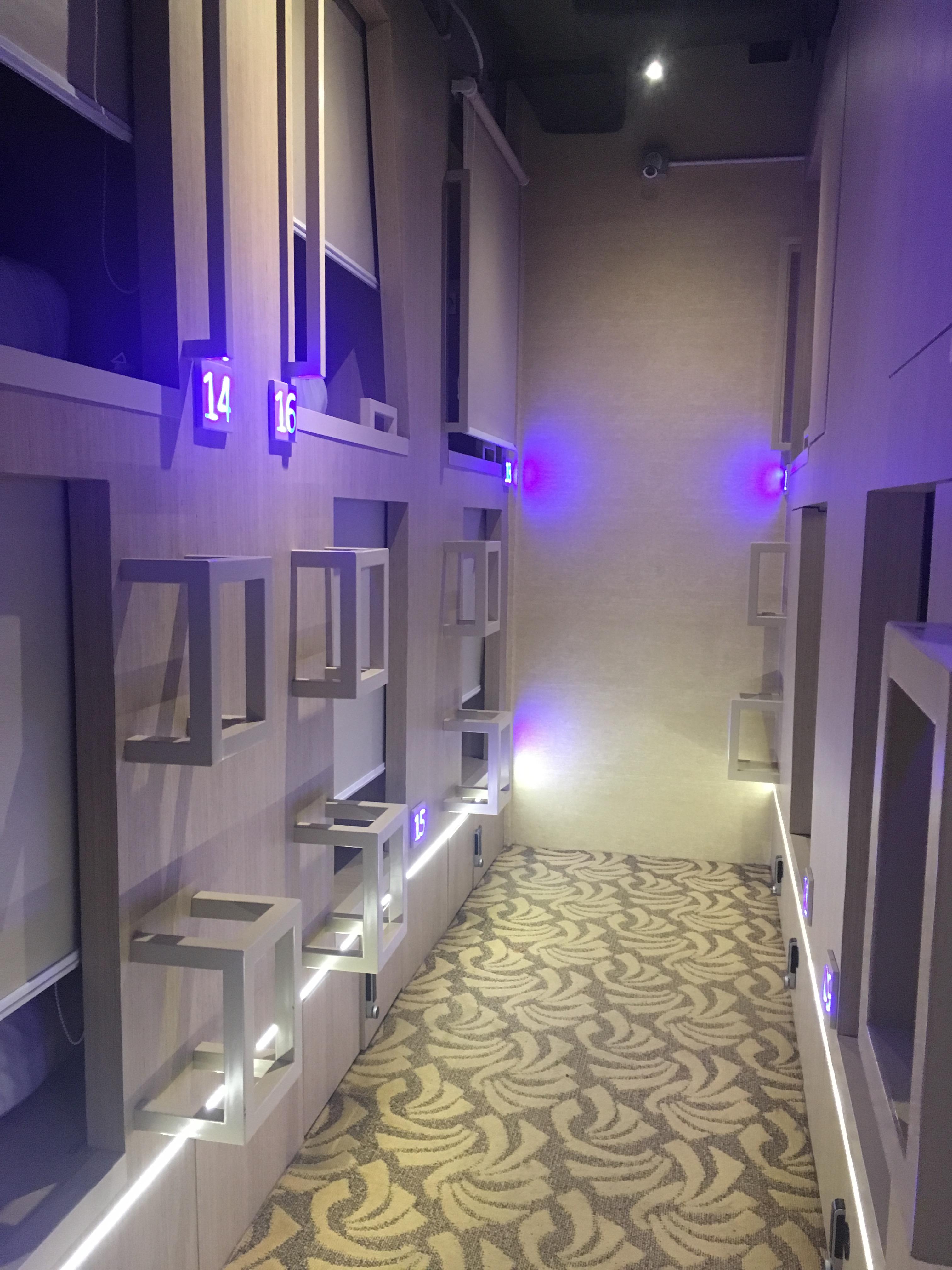 Singapur Kapselhotel