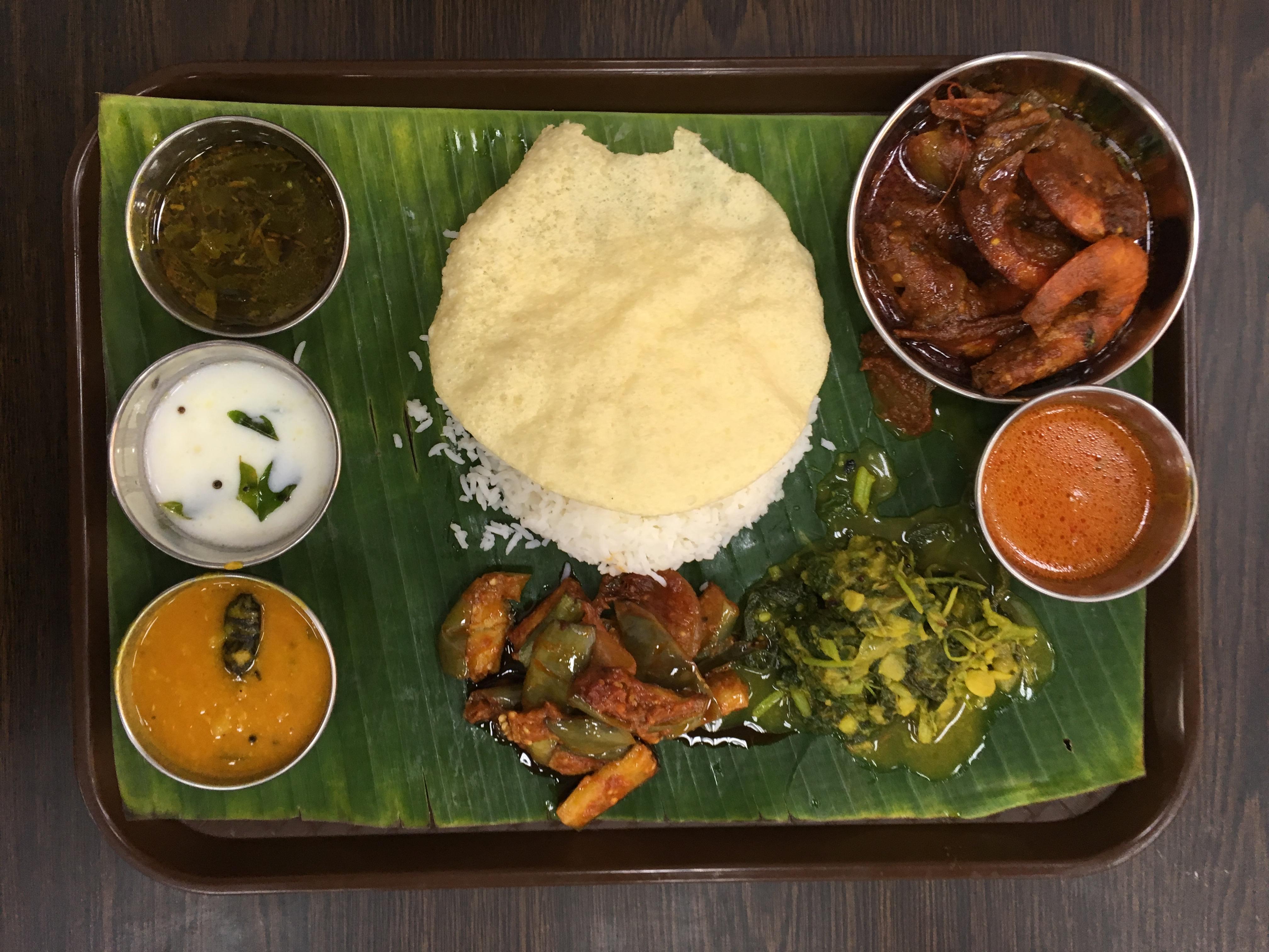 Singapur indisches Essen