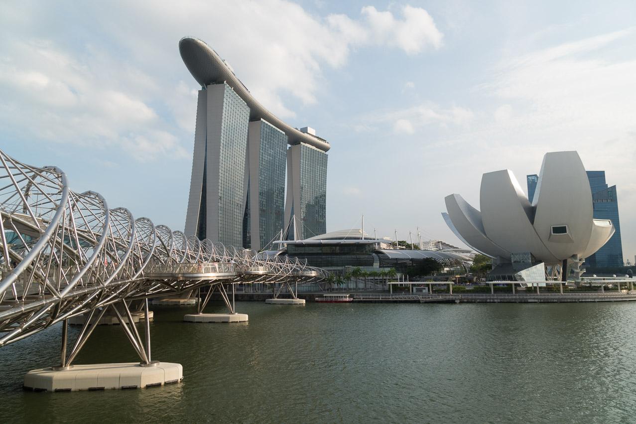 Singapur Helix Brücke